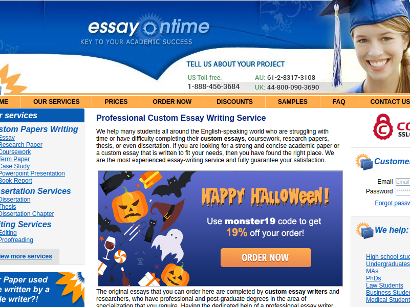 essayontime-com main page review