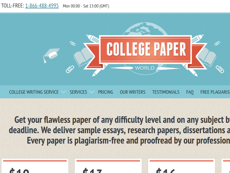 Collegepaperworld Com Main Page Review